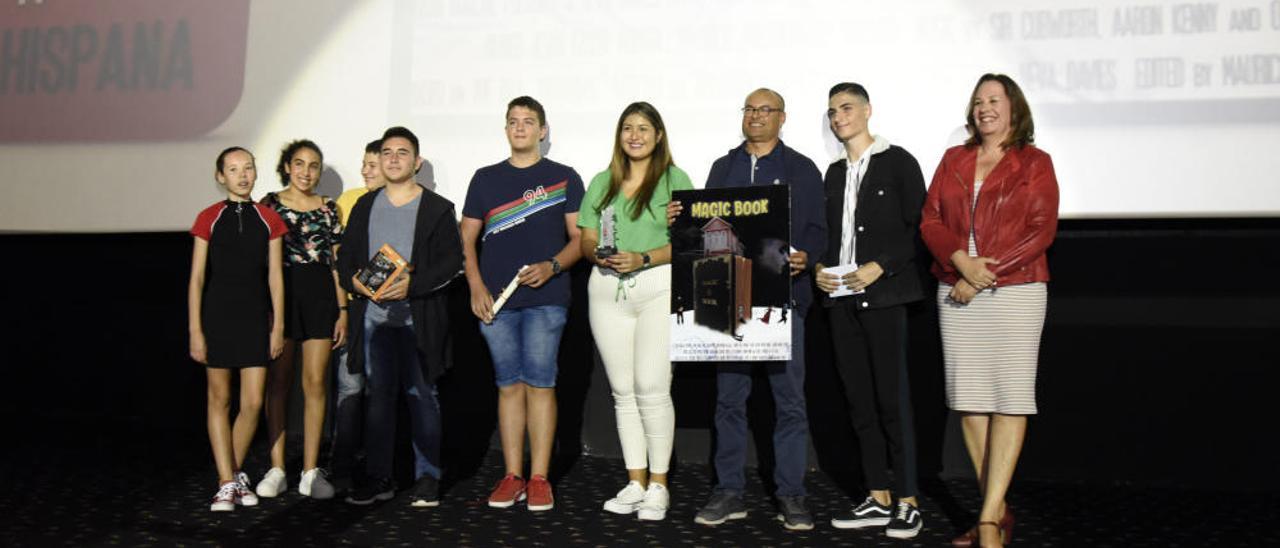 El IES Villalba Hervás de La Orotava gana el Gran Premio del Cinedfest
