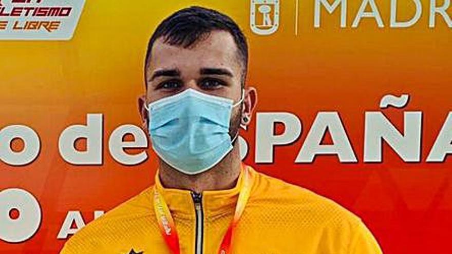 El majorero Manuel Anxo se lleva el bronce en el Nacional sub 20
