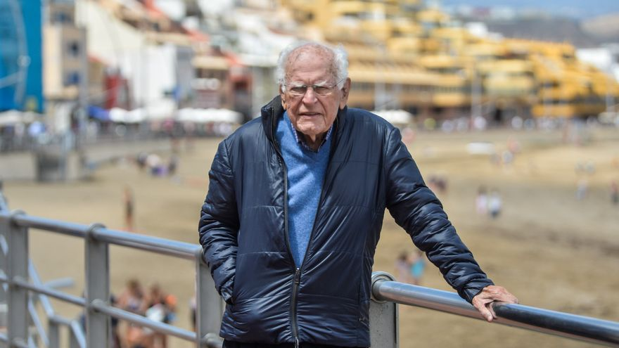 Fallece con 91 años Gonzalo Acosta, el  primer pediatra  de Telde