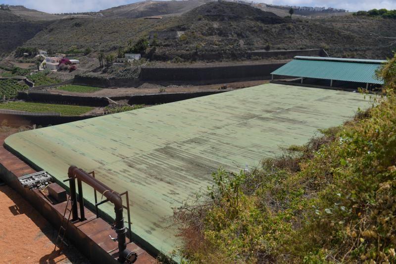 Instalaciones del Biodigestor ubicado en Tenoya