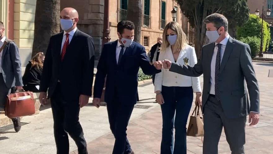 Ciudadanos llega al debate de la moción de censura al PP de Murcia