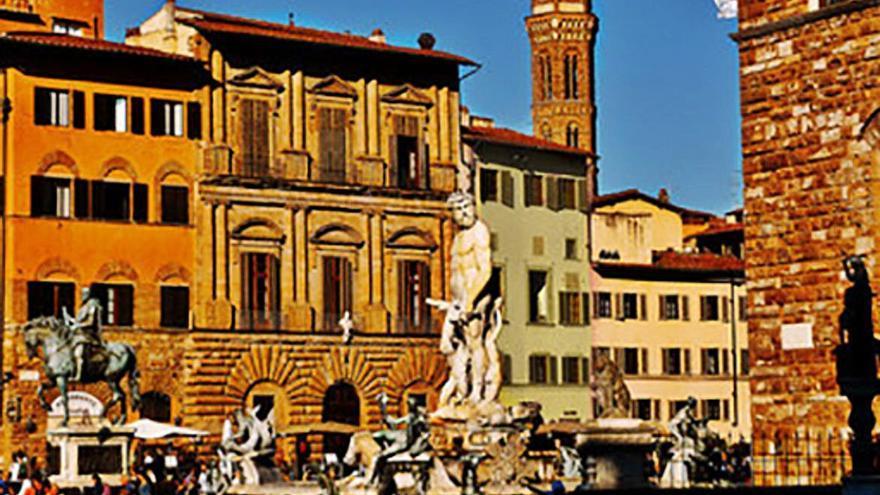 Florencia, caminar sobre el fuego