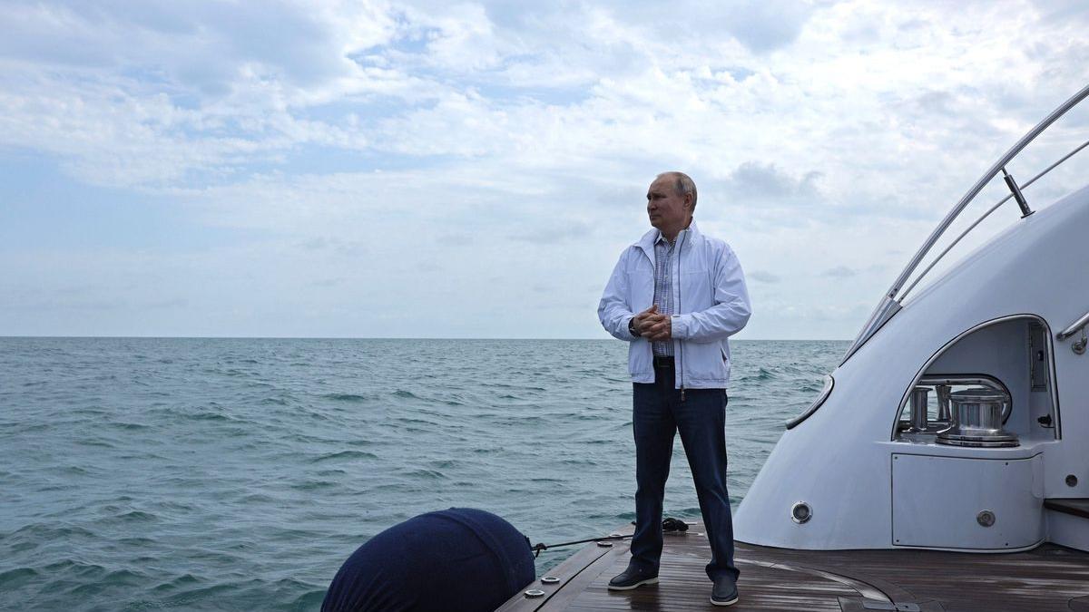 El presidente de Rusia, Vladímir Putin, el pasado pasado en Sochi, en el Mar Negro.