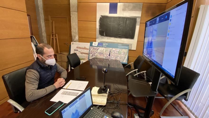 """Siero ordena el teletrabajo a sus funcionarios y el Alcalde pide salir """"lo mínimo"""" para evitar contagios"""