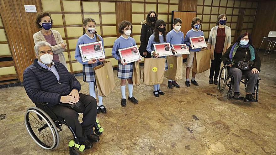 Difac premia a los escolares por sus mejores fotos sobre discapacidad