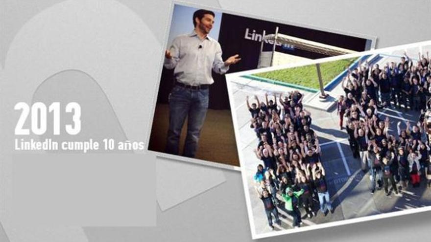 LinkedIn: Diez años de relaciones laborales