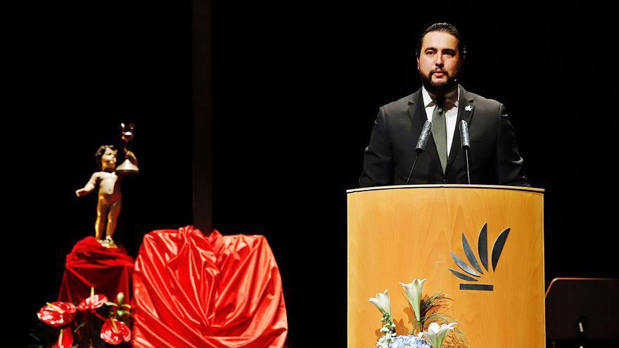 Valentía y emoción en el pregón de Álvaro Carmona