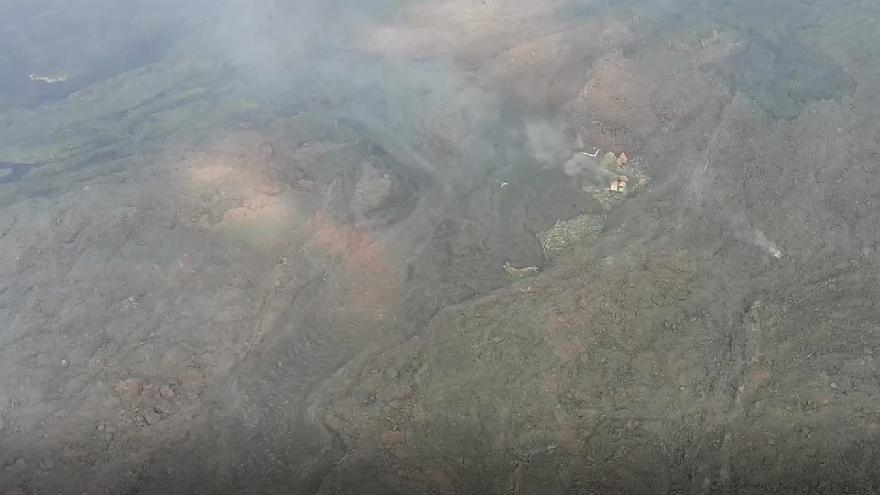 Continúa el 'espectáculo' eruptivo del volcán de La Palma