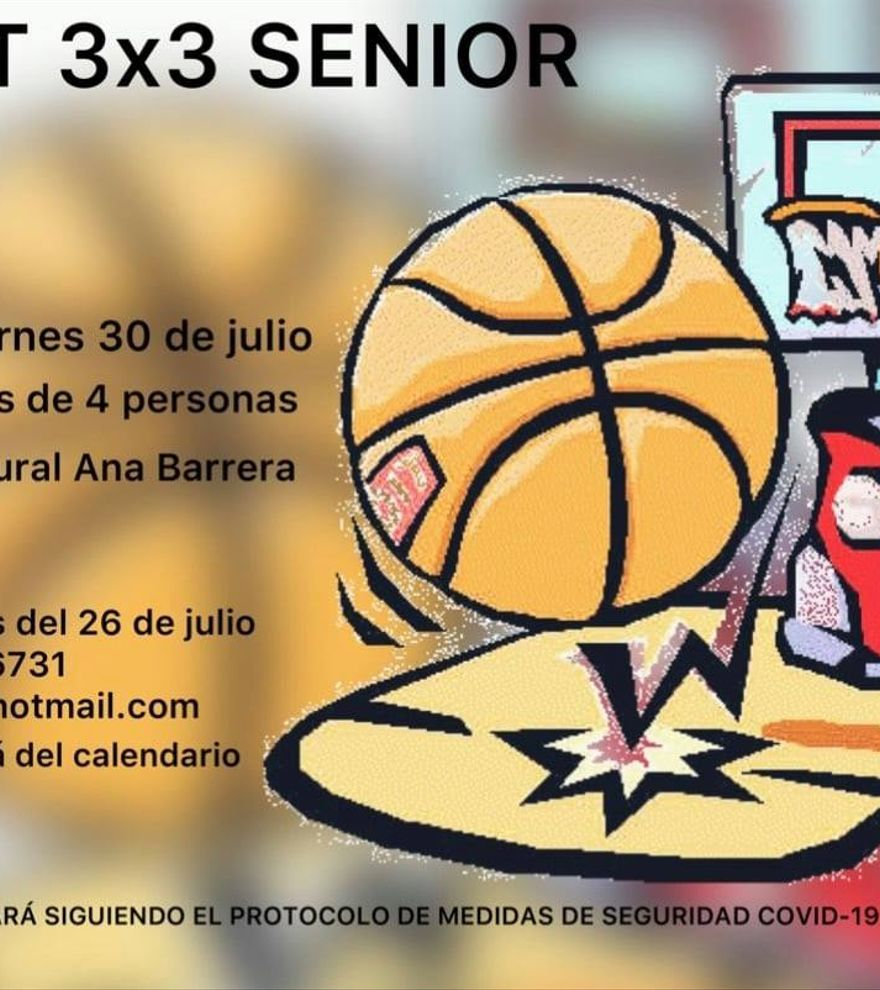Basket 3x3 Senior