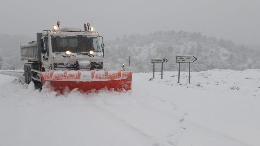 Activan la Unidad de Emergencias y Gestión de Crisis por el temporal de nieve