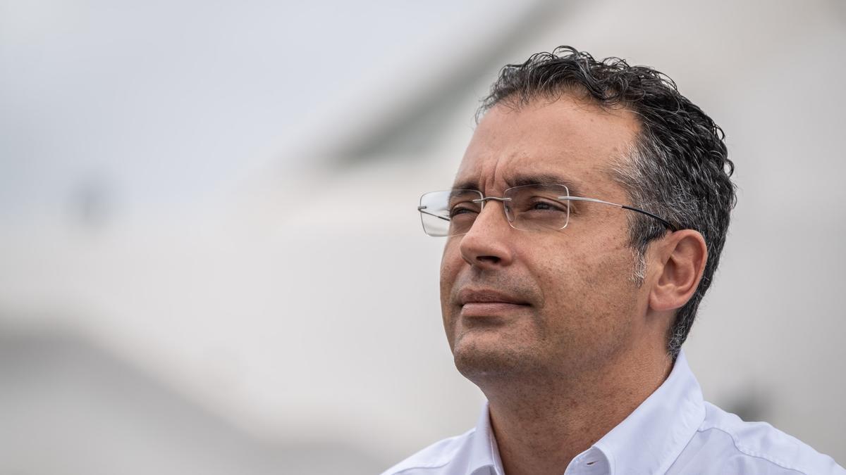 Carlos Tarife, concejal de Urbanismo en Santa Cruz.
