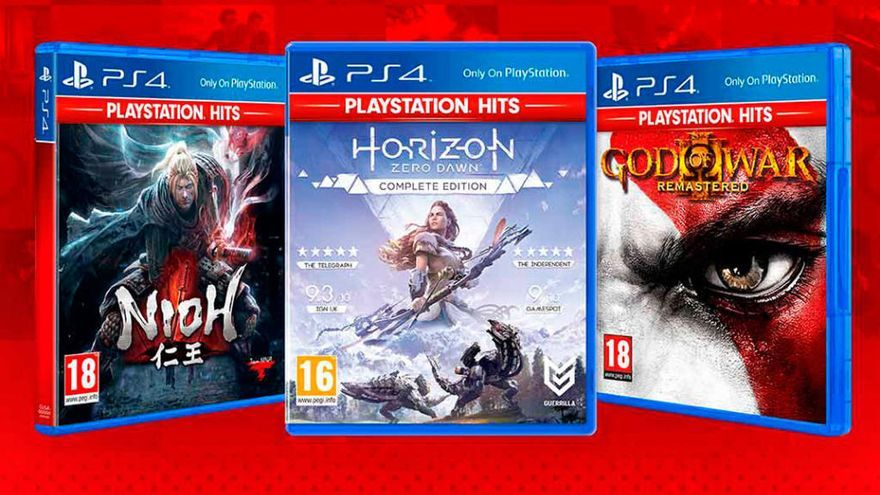 Tres nuevos juegos llegan a PlayStation Hits