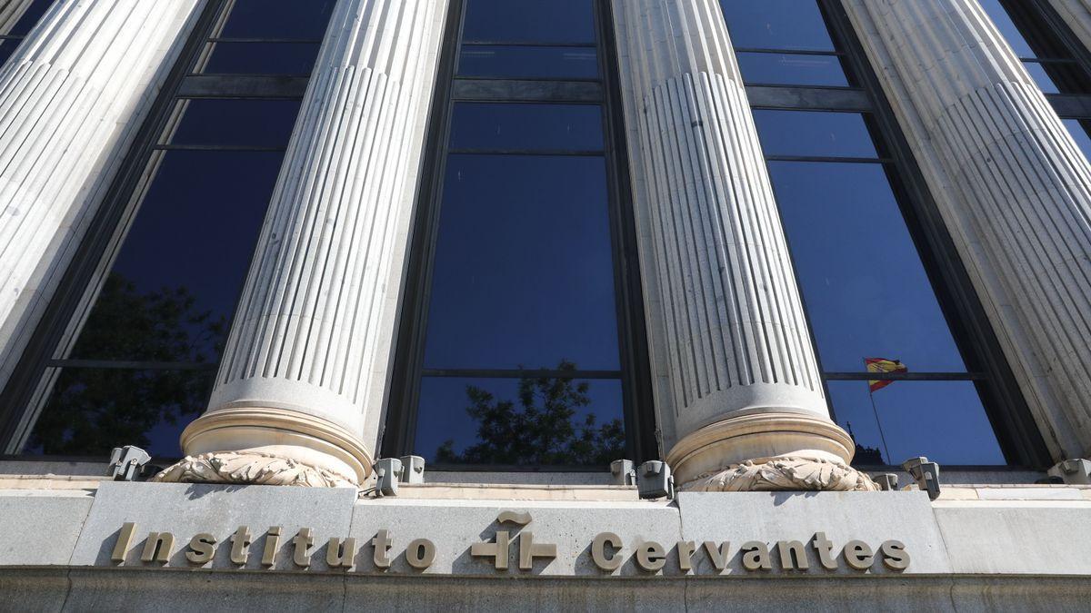 Fachada del Instituto Cervantes en Madrid.