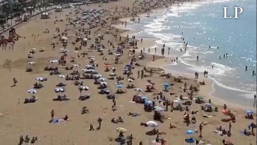 Intervalos nubosos en el norte de las islas este lunes en Canarias