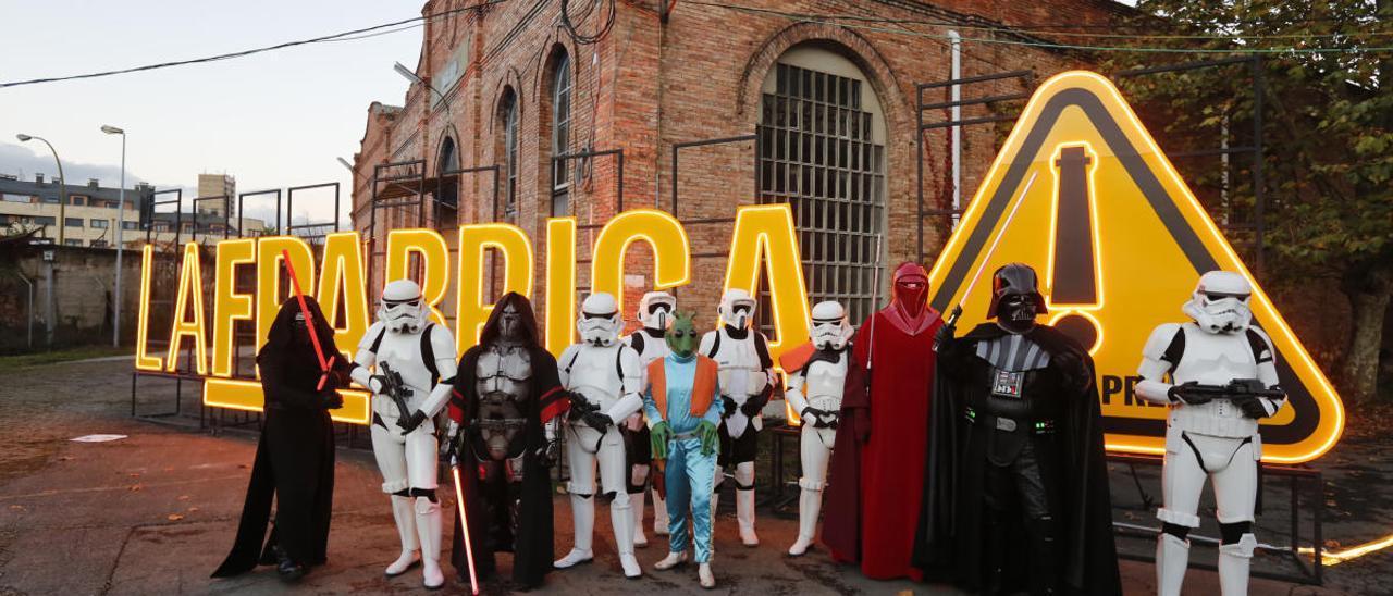 """Los personajes de """"Star Wars"""" en La Vega"""