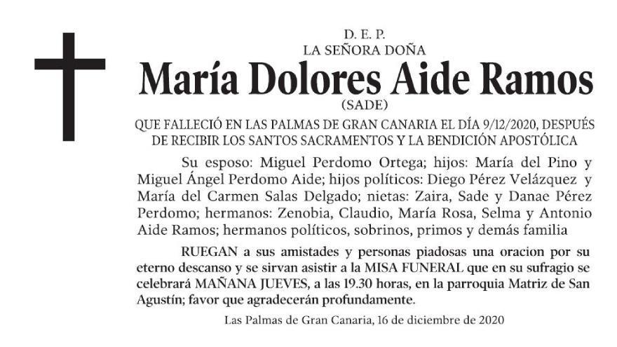 María Dolores Aide Ramos
