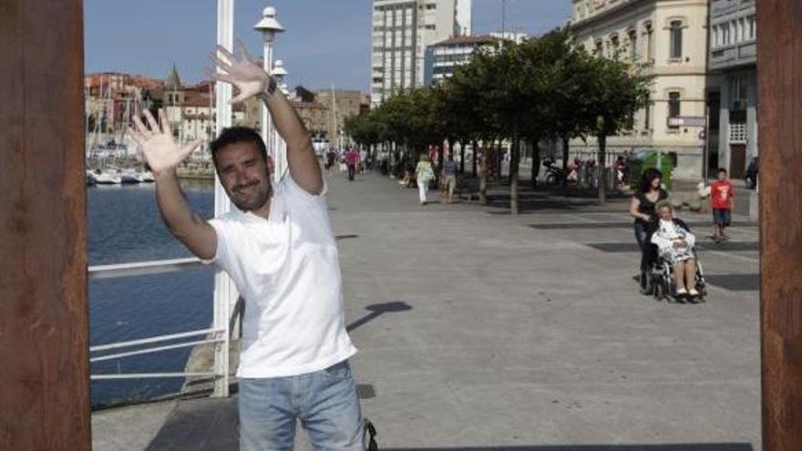 Monumental enfado del asturiano Juanma Castaño por un eructo
