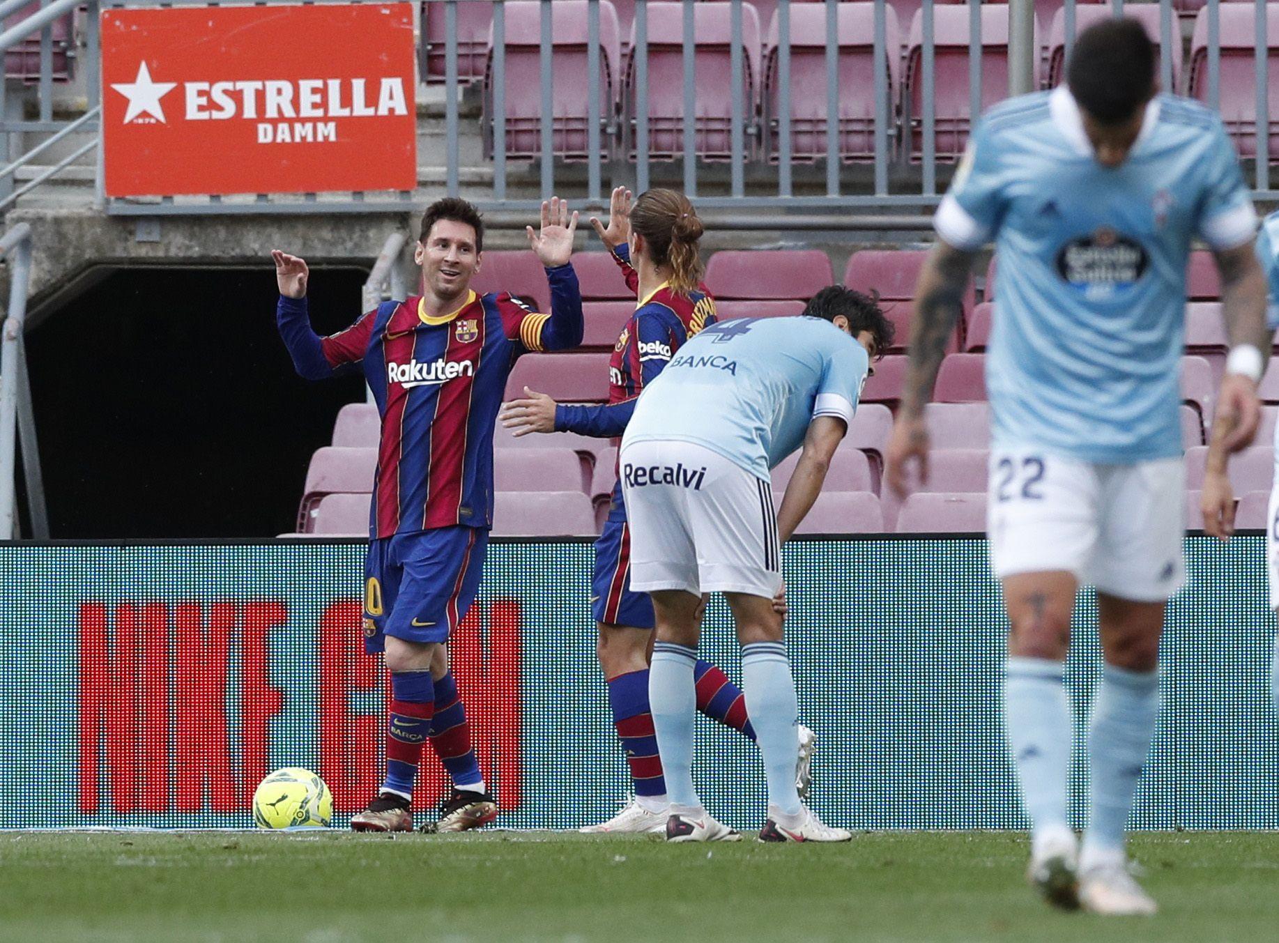LaLiga Santander: Barcelona - Celta