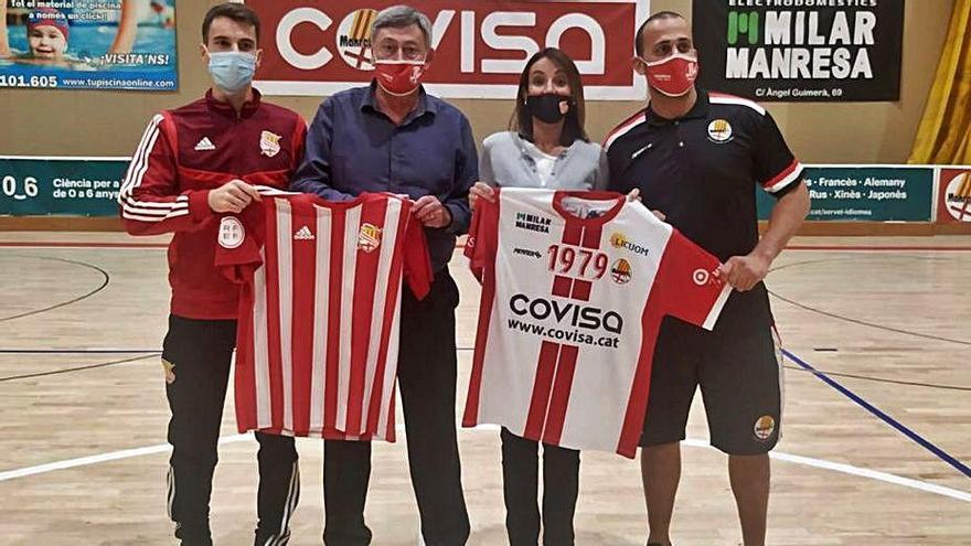 El Covisa Manresa i el Centre d'Esports fusionen aficions