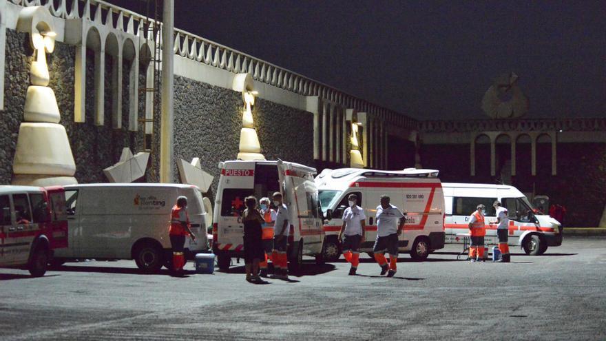 Llega a El Hierro un cayuco con 57 migrantes