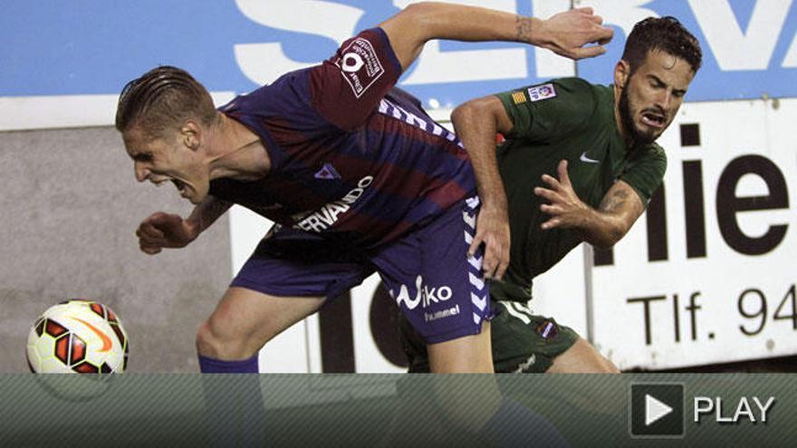 El Eibar empata en el descuento ante un gran Levante