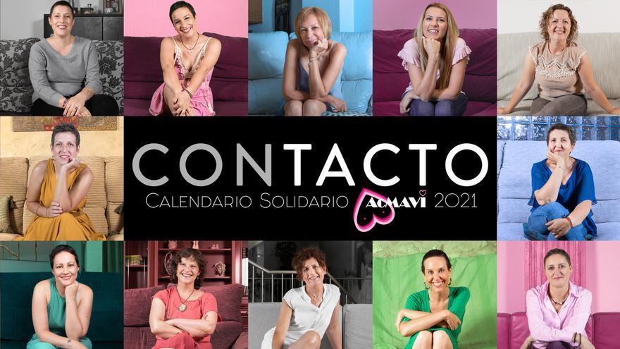 Calendario solidario del cáncer de mama en el Hospital de Elda