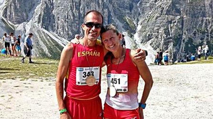 Bronce por equipos de Picó en el Mundial Master de Trail Running