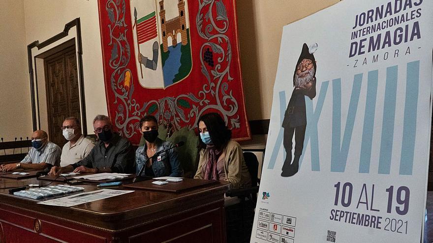 Varita y mascarilla en Zamora: descárgate el programa completo de las Jornadas de Magia