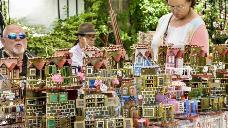 El municipio se echa a la calle con una feria de artesanía, oficios, tradiciones y varios conciertos