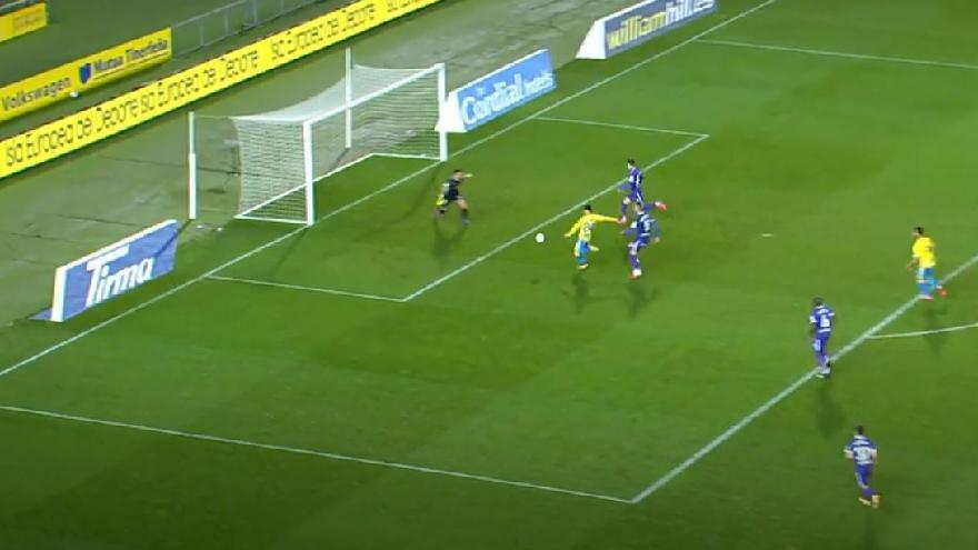 Vídeos de los goles y resumen del partido UD Las Palmas 3 - 2 Sporting de Gijón
