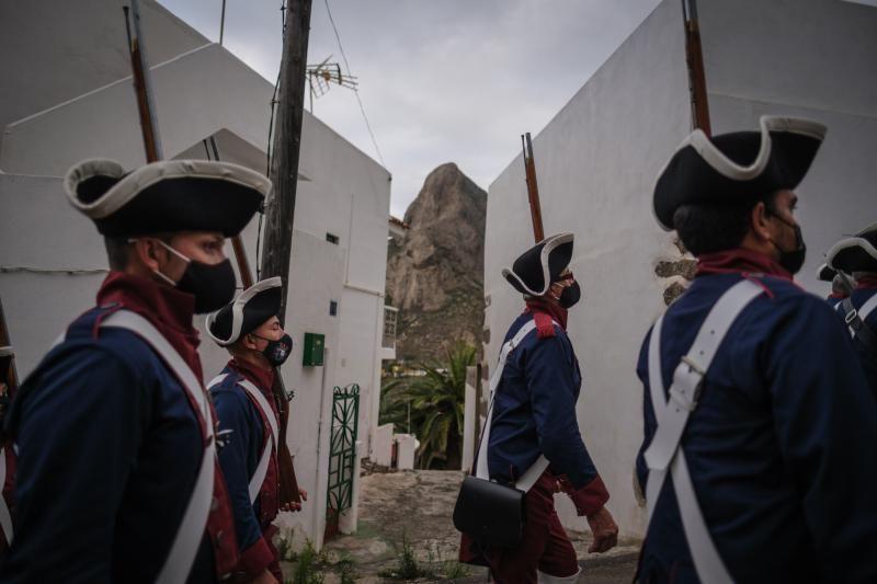 Representación de la librea en Taganana