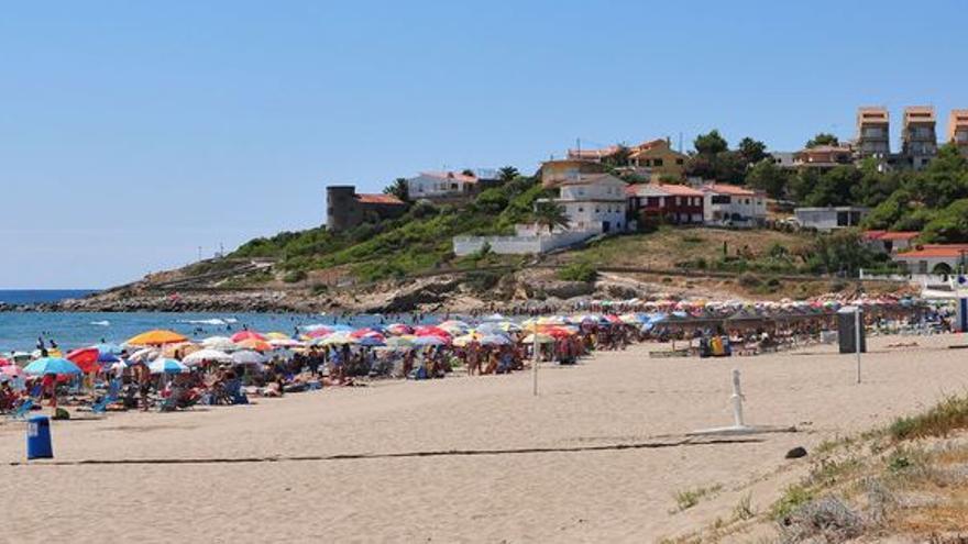 Playa de Morro de Gos, en Orpesa.