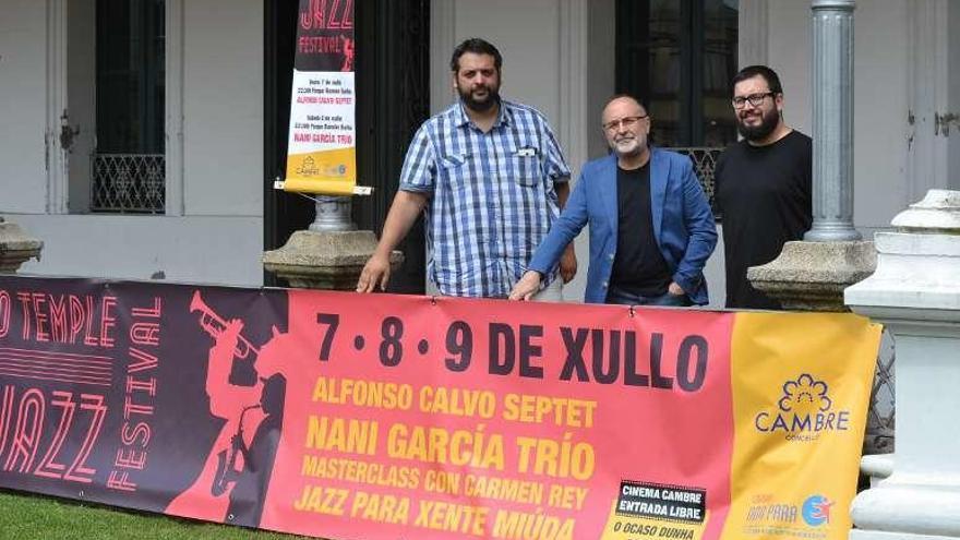 Alfonso Calvo Septet y Nani García Trío tocan hoy y mañana en el Temple Jazz Festival