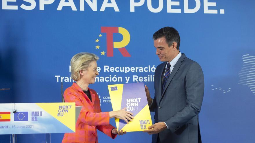 Bruselas rebaja a 19.000 millones la entrega de fondos europeos en 2021