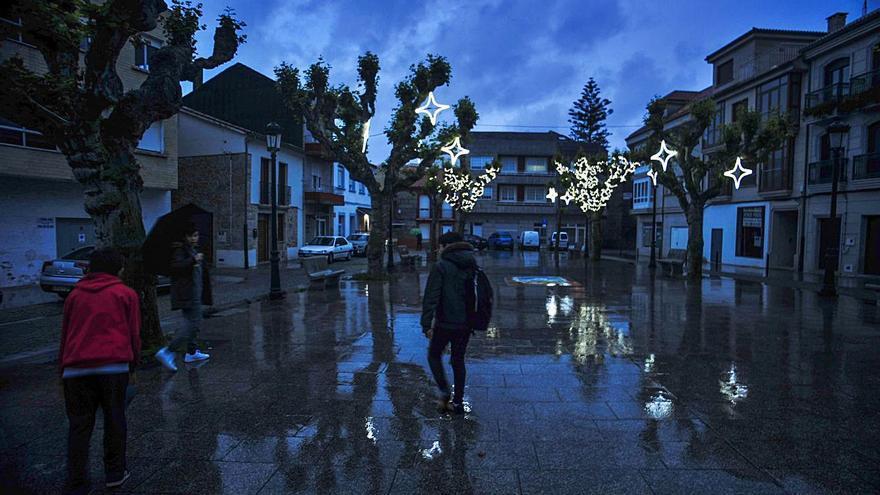 Nueva iluminación para la Navidad de Vilagarcía