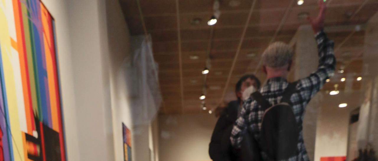 Exposición de Rodolfo Pico en la galería Cornión de Gijón.