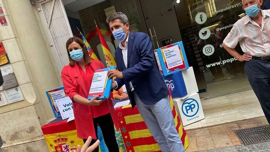 Vox se desmarca de la protesta de Mazón en Alicante contra los indultos
