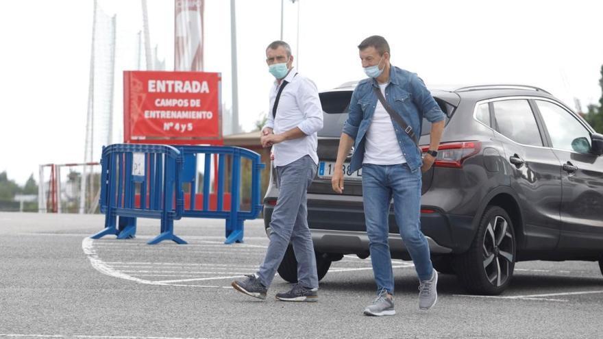 El Sporting hace oficial la marcha de Djukic por finalización de contrato
