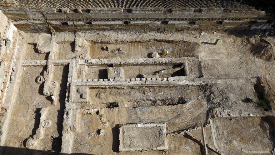 Aparecen restos arqueológicos en un solar destinado a pisos de lujo en Zaragoza