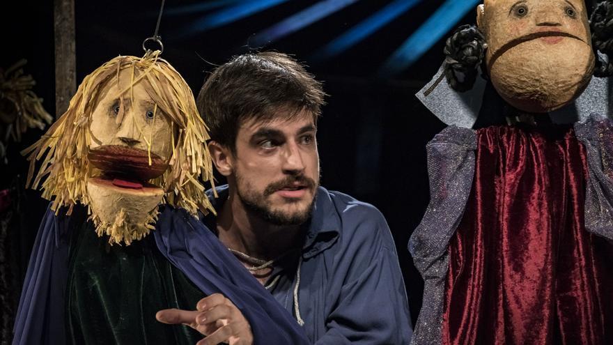 Bambalina lleva su 'Hamlet' de títeres al Teatre del Mar