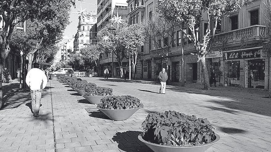 Eixos cívics, carrers, el cas de Nuredduna