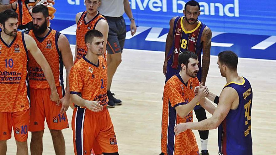 El Valencia Basket podría tener que jugar ante el Zenit