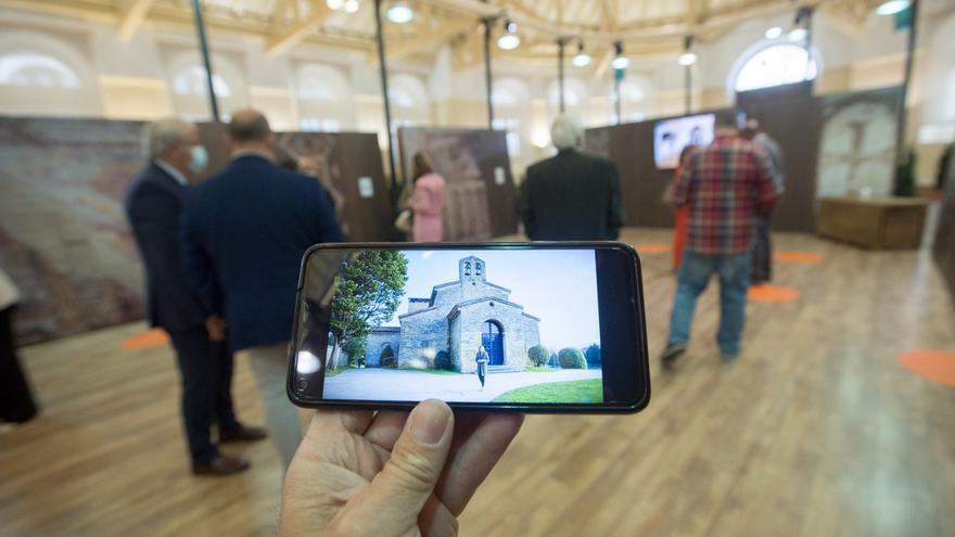 """Inaugurada en Trascorrales la emocionante exposición """"Santullano, viaje al siglo IX"""""""