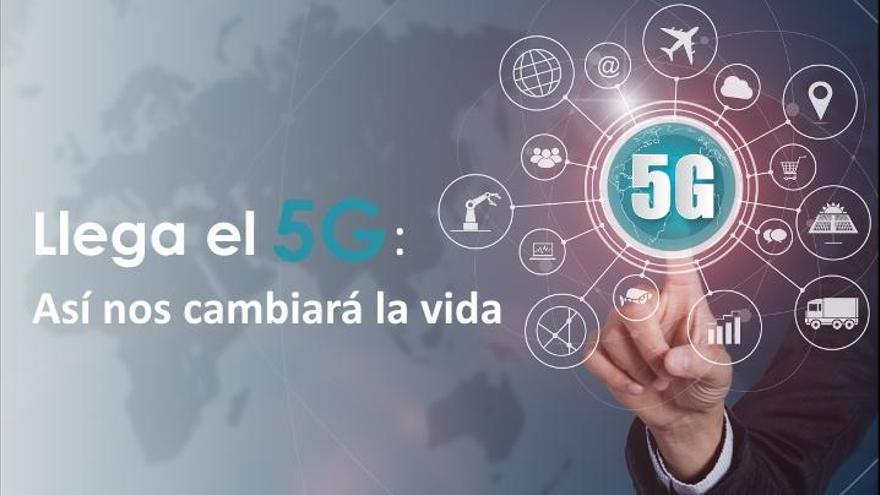 Llega a España el 5G:  Así nos cambiará la vida