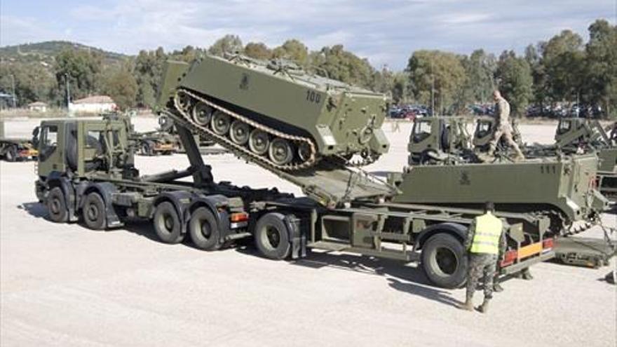 La UCO trabaja en un sistema de inteligencia artificial de mantenimiento de camiones para el Ejército de Tierra