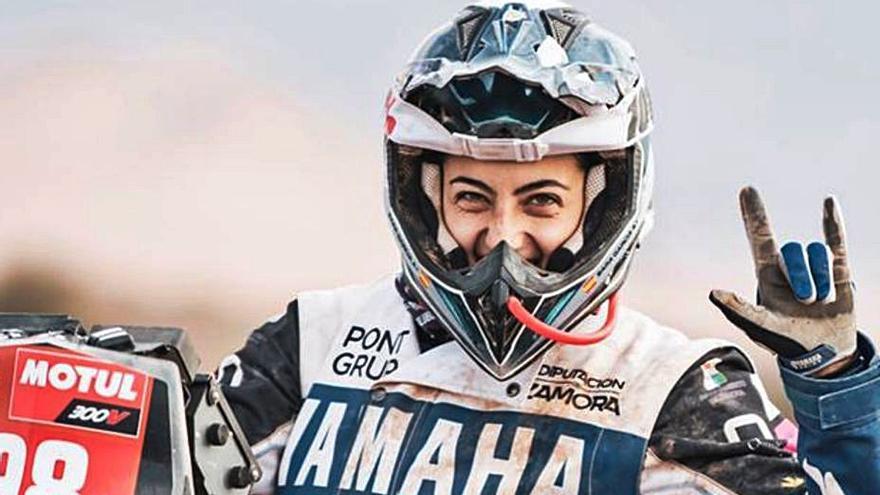 """Sara García: """"Al Dakar voy sola, pero detrás hay un gran equipo"""""""