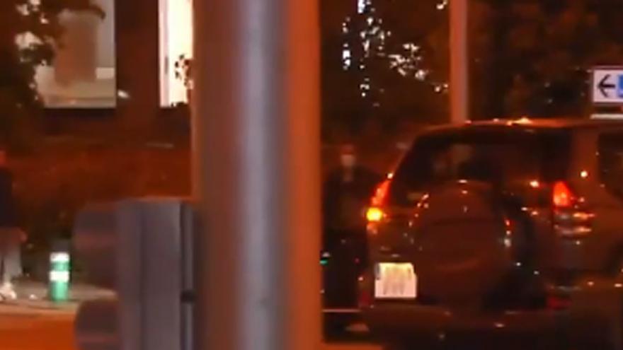 Florentino Pérez sufre un leve accidente de tráfico