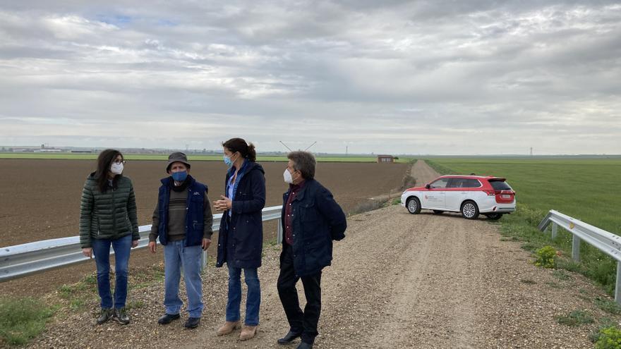 La Junta mejora el camino rural entre Villamayor y Quintanilla del Monte