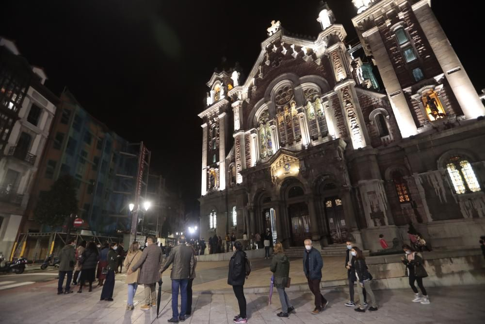 Noche Blanca en Oviedo.