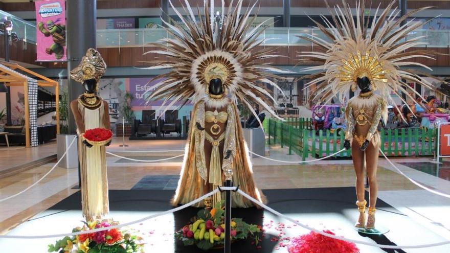 Thader acoge una exposición de disfraces de Carnaval